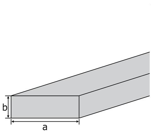 Aluminium Flat Bar 30x5mm Almgsi 0,5 Length Selectable Alu Flat Material Flat